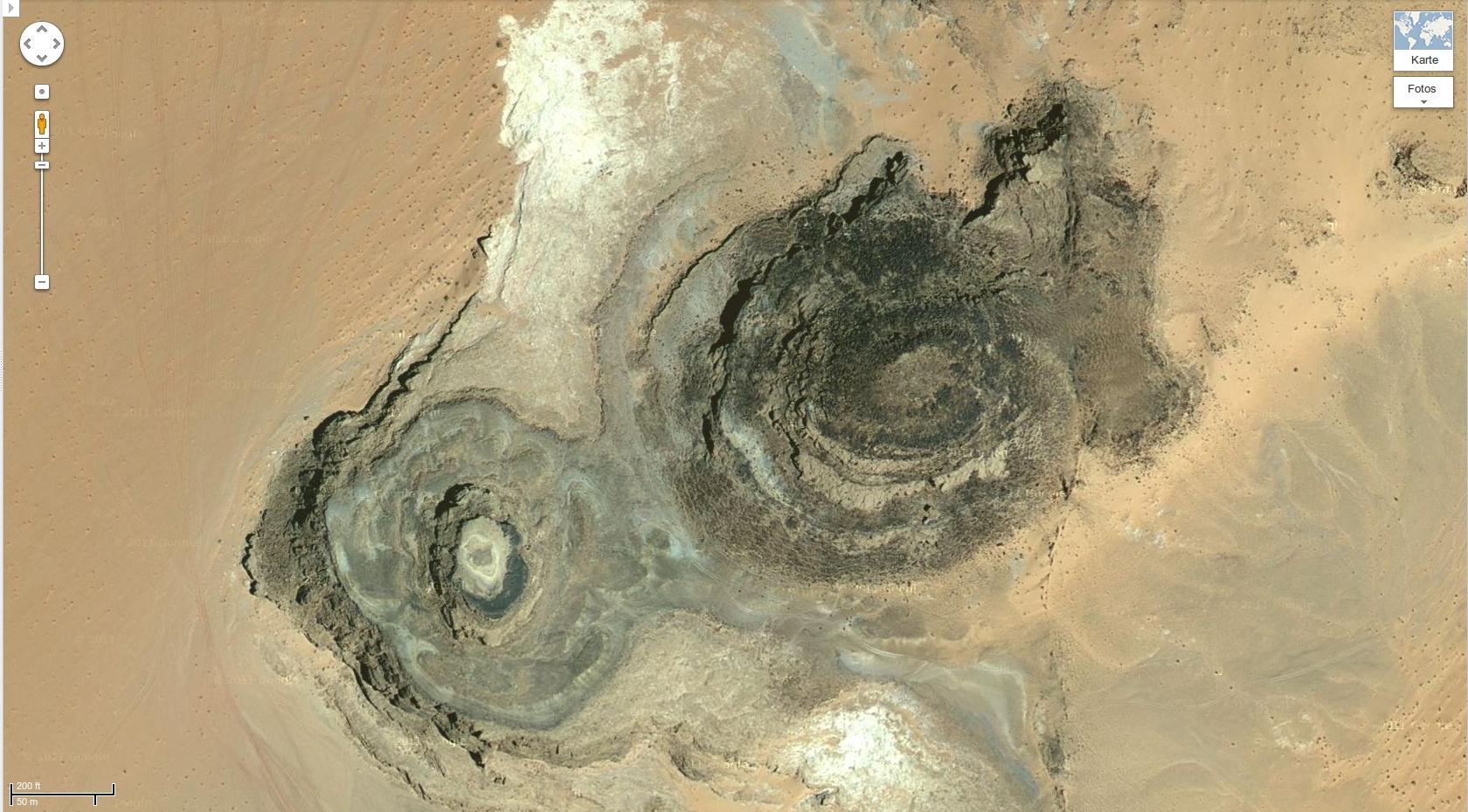 Sinai peninsula (Google Maps)